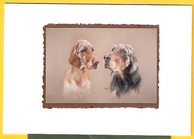 English Gordon Setter Note Card Notecards by Peter Hogarth Pack of 4 LAST PACK!