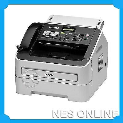 Brother FAX-2840 Mono Laser FAX Machine/Printer Plain Paper /w TN2250 Toner*RFB*