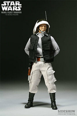 Sideshow Militaries Of Star Wars Rebel Fleet Trooper 1/6 Scale  Rare New