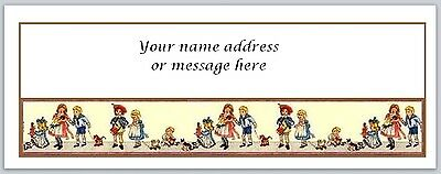 30 Personalized Return Address Labels Vintage Dolls Buy 3 get 1 free (bo 279)