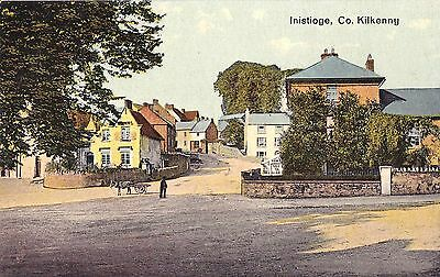 j irish postcard ireland kilkenny inistioge village