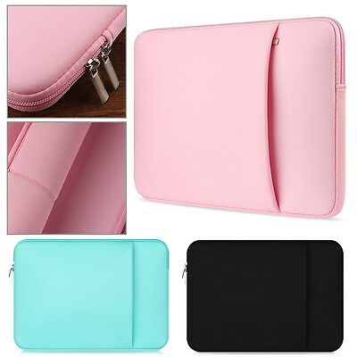 """Universal Sleeve Bag Cover Case For 14"""" 15"""" Lenovo HP Asus Acer Sony Dell Laptop"""
