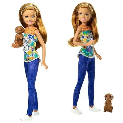 Barbie - Family Doll Stacie with Dog - Barbie & Her Sisters in a Puppy Chase