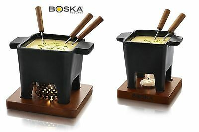 Boska Black Tapas Fondue Set, Small or Large Size