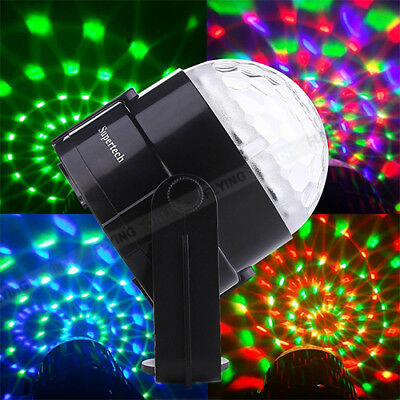Disco Party DJ LED RGB Stage Effect Light Lamp Laser Crystal Magic Ball AU