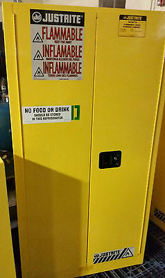 60 Gal Flammable Liquid Storage Cabinet - Justrite 896000