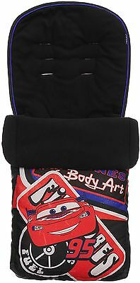 Obaby FOOTMUFF DISNEY CARS Cosy Toes Stroller/Pram Accessory Baby/Toddler BN