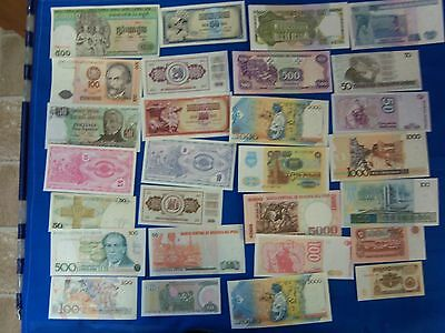 Foreign Banknotes, All uncirculated, Grp 45 (S3341)