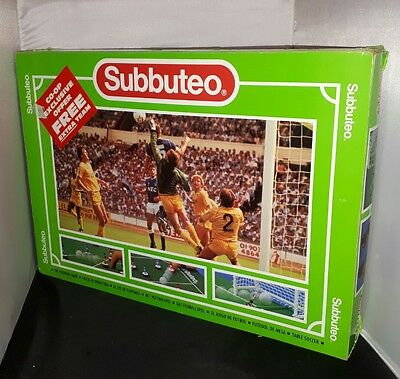 SUBBUTEO Football Table Soccer Game 60140 Boxed Set - Blue & Red - extra balls