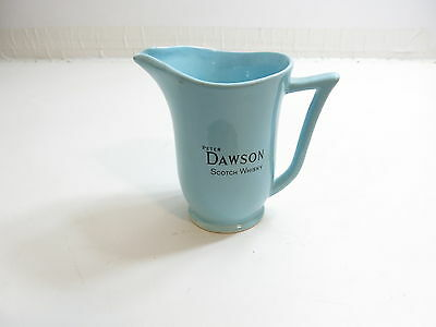 """Vintage Advertising Whiskey Pitcher Peter Dawson 5 1/2"""" By West Highland"""