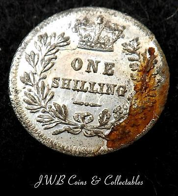 Tiny Queen Victoria Model Shilling Coin By Lauer Toy Money