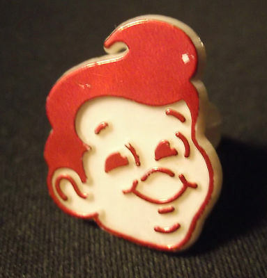 Vintage Big Boy Restaurant Kid`s Plastic Logo Advertising Toy Ring ~ Size 6.5 -7