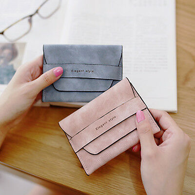 Fashion Women Faux Leather Wallet Coin Purse Clutch Wallet Card Holder Small Bag
