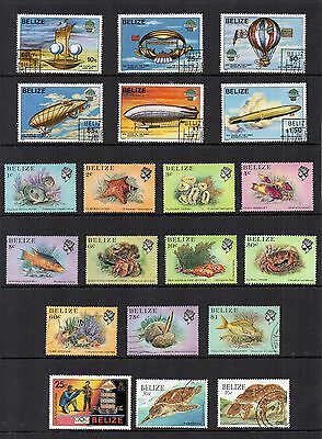 BELIZE 1983-84 Stamps Collection MINT USED Ref:QE529