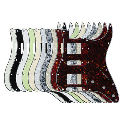 NEW Strat HSH Guitar Pickguard Scratch Plate 11 Holes for FD Strat Style Guitar