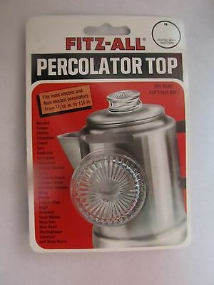 """Tops Fitz-All Replacement Percolator Top #135  13/16"""" to 1 1/2""""  NEW"""
