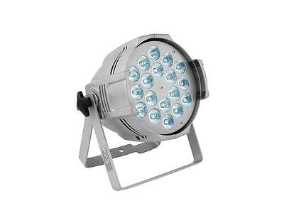 EUROLITE LED ML-56 QCL RGBW 18x10W FLOOR silber