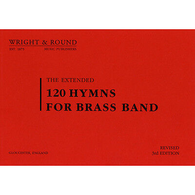 120 Hymns for Brass Band - 2nd and 3rd Cornet Part Book (A5 Standard Edition)