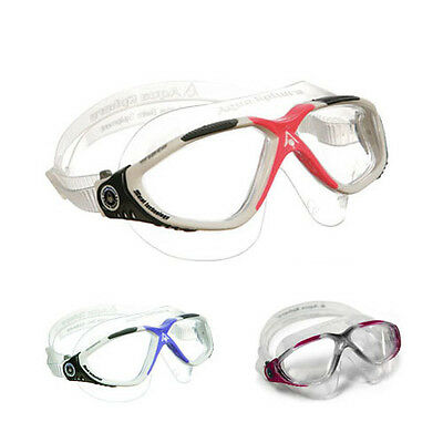 Aqua Sphere Vista Ladies Swimming Goggles Masks - Womens Lady Girls Swim Goggles