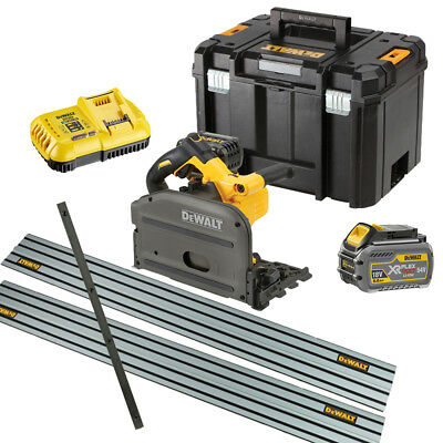 DeWalt DCS520T2 54v XR Brushless FlexVolt Plunge Saw 6.0Ah/2.0Ah Kit