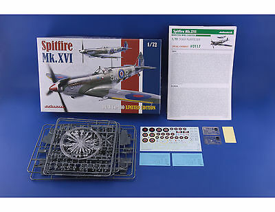 EDUARD 2117 Spitfire Mk.XVI in 1:72 LIMITED Dual Combo