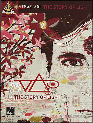 Steve Vai The Story of Light Guitar Recorded Versions TAB Music Book