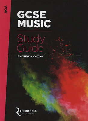 GCSE Music Study Guide from 2016 AQA Theory Exams Tests Rhinegold Coxon