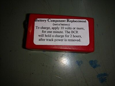 9 Volt   Battery Component Replacement (BCR) For MTH PS-1 & PS-2 Locos,