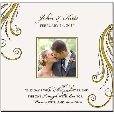 Personalized Wedding Photo Albums  Mr and Mrs Anniversary Gift