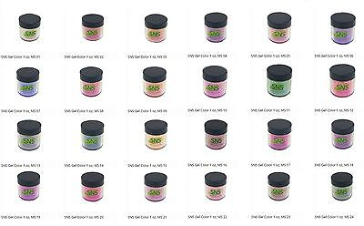 SNS Nail Dipping Powder MOOD CHANGING Colors No Primer,No Liquid MS01-MS24