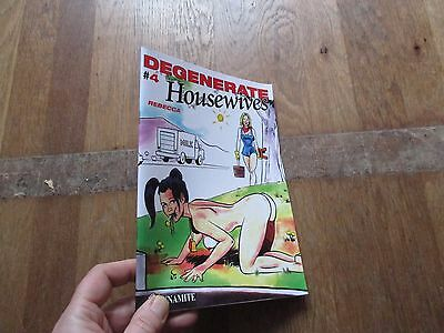 ALBUM BD DEGENERATE HOUSEWIVES tome 4 rebecca eo 2015