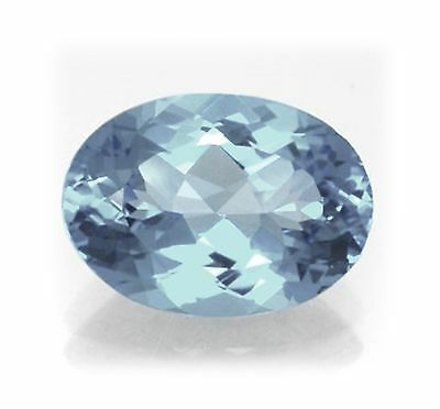 Natural London Blue Topaz 10mm x 8mm Oval Cut Gem Gemstone