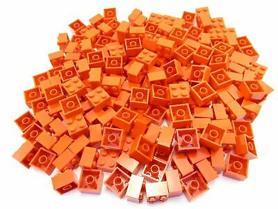 LEGO Red Brick 2x2 Lot of 100 Parts Pieces 3003