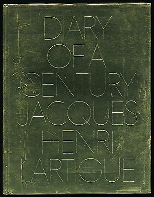 1970 Jacques Henry Lartigue DIARY OF A CENTURY Richard Avedon ROTH 101 First Ed