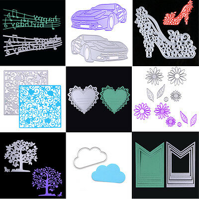 Metal Cutting Dies Stencil Scrapbook DIY Paper Card Craft Embossing Die-Cut Gift