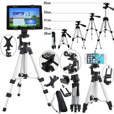 Professional Camera Tripod Stand Holder Mount for Tablet PC Phone iPhone Samsung