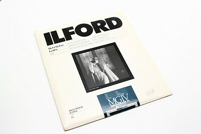 25 Ilford Mgiv Multigrade Iv Rc Deluxe  8X10 B&w Pearl Photography Paper