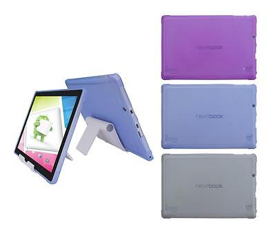 """Adjust Stand Holder + TPU Case for Nextbook Ares 10A 10.1""""(NX16A10132S) 2016"""