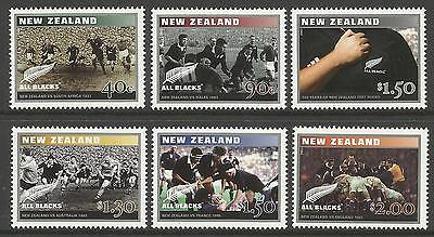 NEW ZEALAND 2003 CENTENARY TEST RUGBY Set of 6 MNH