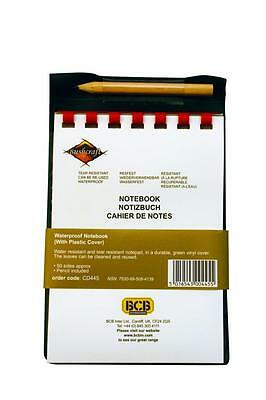 Bcb Waterproof Note Book With Plastic Cover - Edc Camping Survival Hiking