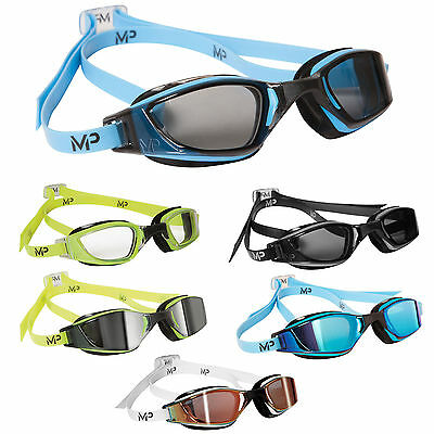 New! Michael Phelps Xceed Mens Competition Swimming Goggles Swim By Aqua Sphere