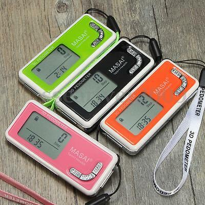 LCD 3D Sensor Pedometer Run Step Walking Calorie Distance Counter Sports Outfit