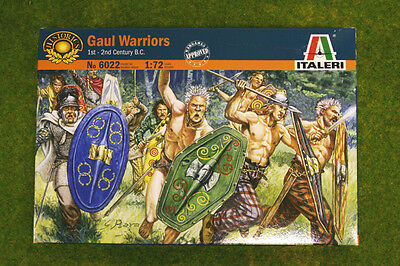 1:72 Scale GAUL WARRIORS 2nd Century BC  Italeri 6022