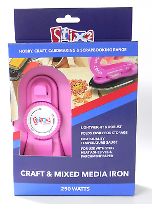 Stix 2 Craft & Mixed Media Iron Encaustic Wax Art Lightweight Folding S57360