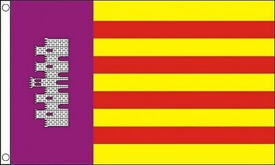 MALLORCA FLAG 5' x 3' Majorca Island Spain Spanish Isles Balearic Islands