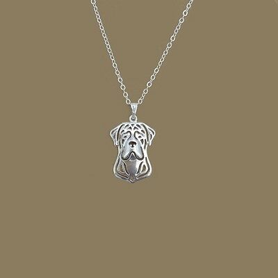 Cane Corso 3D pendant necklace  Napoleon Mastiff  collectible N68