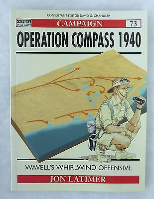 Osprey Ww2 Military History Campaign Book # 73 Operation Compass 1940