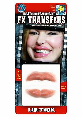 Lip Tuck Botox 3D Tattoo Tinsley Transfers
