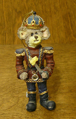 """Boyds Resin Ornament #25726 N. MOUSEKING, 4"""" New From our Retail Store, Mint/Box"""
