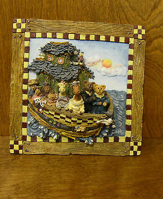 Boyds Accessory #4010 VOYAGE of NOAH PLAQUE, NEW from our Retail Store